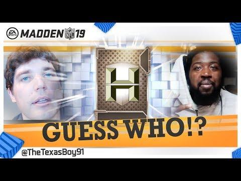 Guess Who??? Vs Gutfoxx | Heavyweight Edition | New Stipulation - One Shot In The Dark | Madden 19