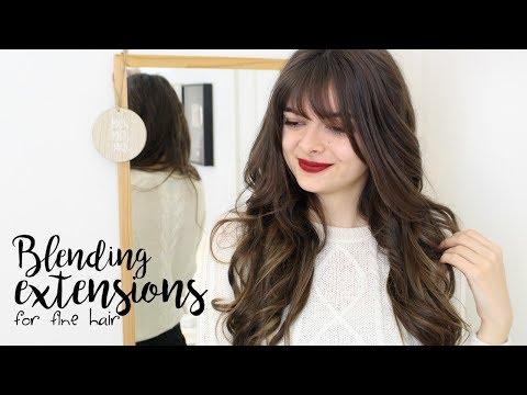Wearing & Blending Extensions In Fine Hair | Tips