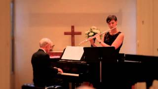 Michael Conway Baker - Elegy for Flute and Piano (Jan.27th - Tribut to 75th Birthday Concert)