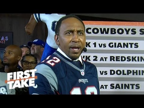 Stephen A. predicts every game of the Cowboys' 2019 season in front of Cowboys fans | First Take