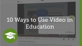 10 Ways to Use Video in Education