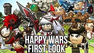 Happy Wars (Free Action MMO Game): Watcha Playin'? Gameplay First Look(http://www.freemmostation.com/ http://www.happywars.net/ Join our forums! http://www.freemmostation.com/forum/ Follow Us: Facebook: ..., 2014-06-26T19:11:10.000Z)