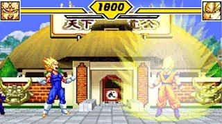 Majin Vegeta vs Ultimate Goku, Broly, Cell - Mania Rank | DBZ Supersonic Warriors 2