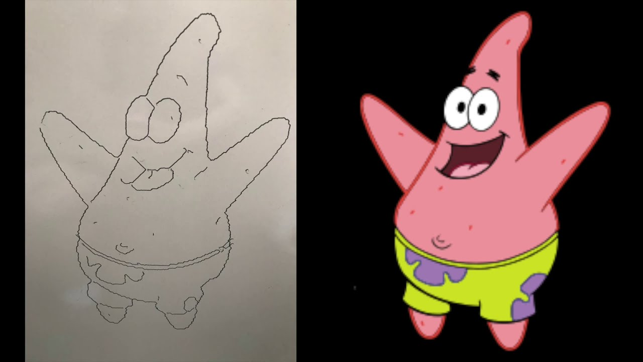 Drawing Patrick Star with a Drawing Robot! (Arduino Engineering Kit)