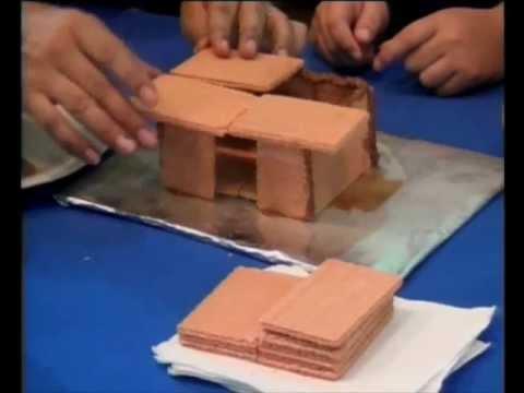 Como hacer una casita de galleta en cuenticos youtube - Como se limpia una casa ...