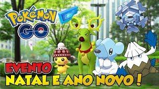 EVENTO DE NATAL E ANO NOVO COMEÇA AMANHÃ! PREPARE-SE! -  Pokémon GO | PokeNews