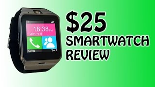 Aplus GV18 smartwatch top to bottom review & demo!