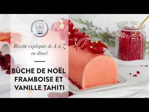 recette-de-a-à-z-:-la-bûche-de-noël-framboise-et-vanille-tahiti