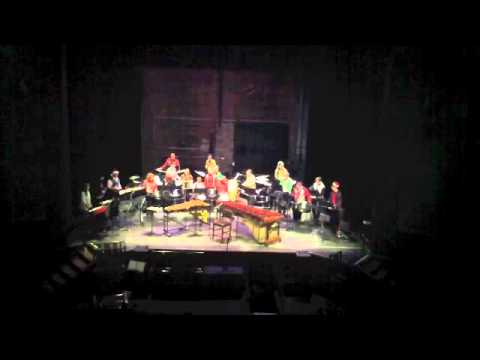 Little (West African) Drummer Boy performed by Iowa Percussion