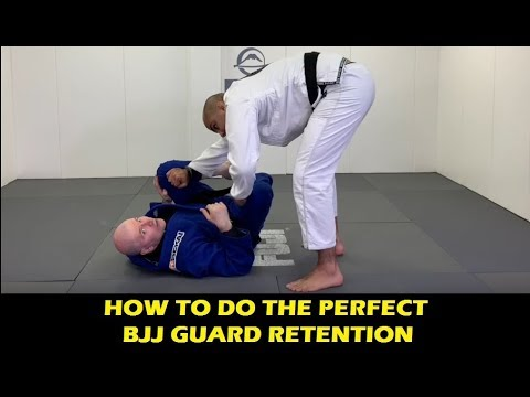 How To Do Perfect Guard Retention In BJJ by John Danaher
