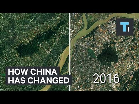 Time Lapse Of How Much China Has Changed