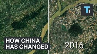 Time–lapse of how much China has changed