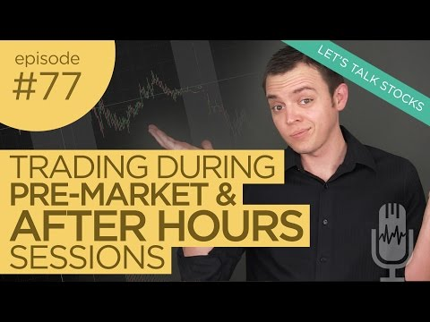 Ep: 77 Trading During PreMarket & After Hours Sessions