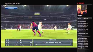 Astathios Pranks VS Vibrator productions (Real vs Barca pes 2015 hosted by gameworld.gr)