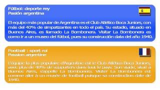 Cours d'espagnol en ligne   Passion argentine   Ar