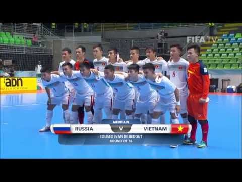 Match 37:  Russia v Vietnam - FIFA Futsal World Cup 2016
