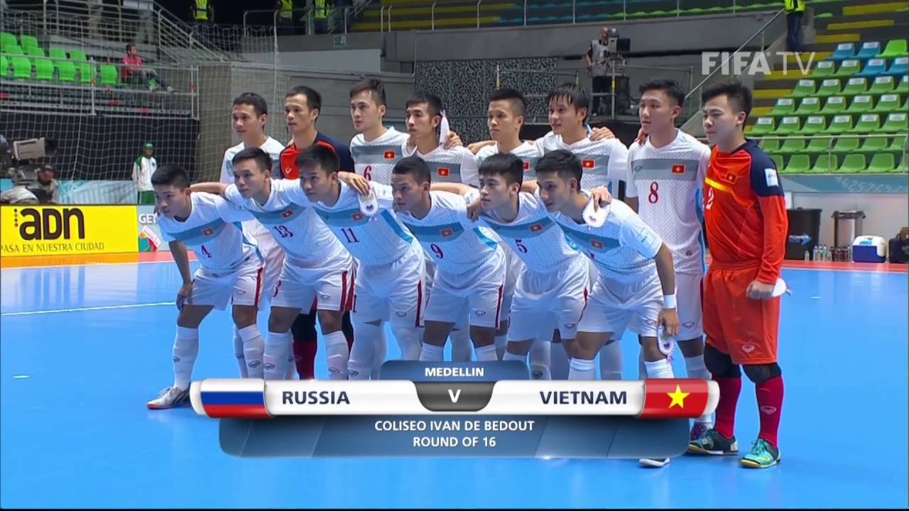 Match 37 Russia V Vietnam Fifa Futsal World Cup 2016 Youtube