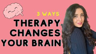 How Therapy Changes Your Brain | Mental Health Over Coffee | Micheline Maalouf #Therapy # anxiety