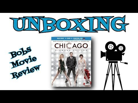 Chicago Blu Ray Unboxing  Digital HD Giveaway Open In USA Only