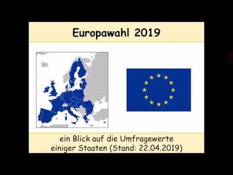 Europawahl 2019: Deutschland, Frankreich, Italien, Österreich, Spanien, Vereinigtes Königreich