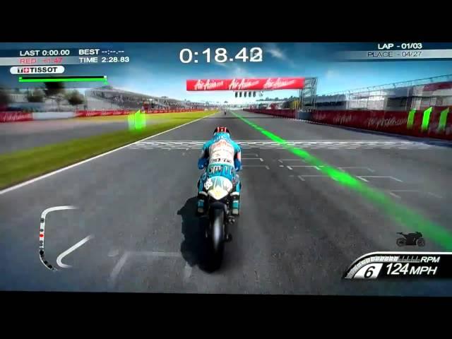 Moto GP 10/11 Moto GP 125cc Bradley Smith