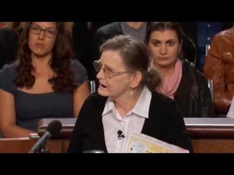 The Judge Judy top secret Pomeranian Custody Battle!