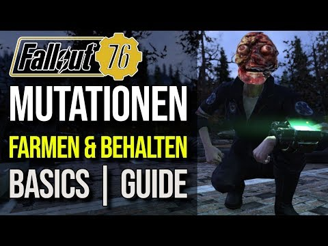 Mutationen Farmen & Behalten | Basic Guide | Fallout 76 thumbnail