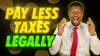 Top 6 Ways to Pay LESS Taxes (LEGALLY)... CPA Explains!