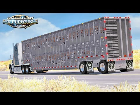 American Truck Simulator  Haulin Cattle
