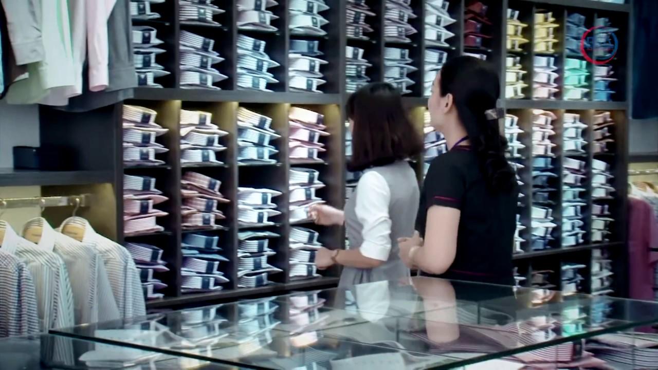 Áo sơ mi từ sợi vải tre của Việt Tiến    Khám phá sản phẩm Việt