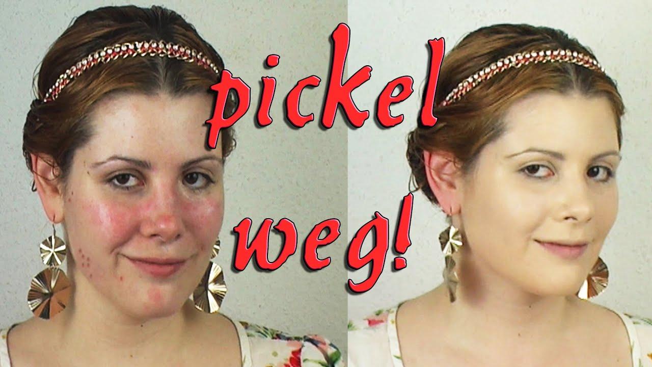 Pickel Abdecken