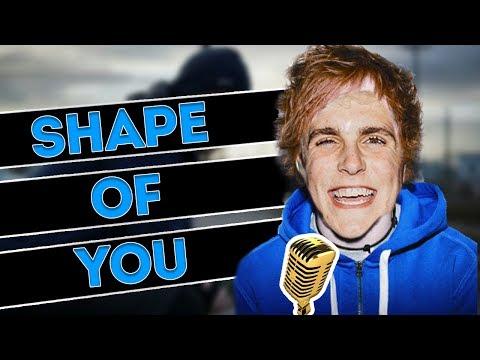 Jake Paul Sings Shape Of You
