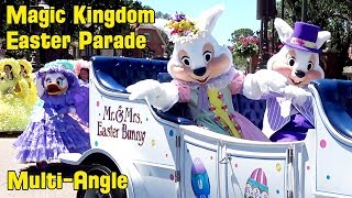 Easter Parade at The Magic Kingdom 2019 Multi-Angle w/Daisy Duck, Fantasia Hippos & Ostriches+