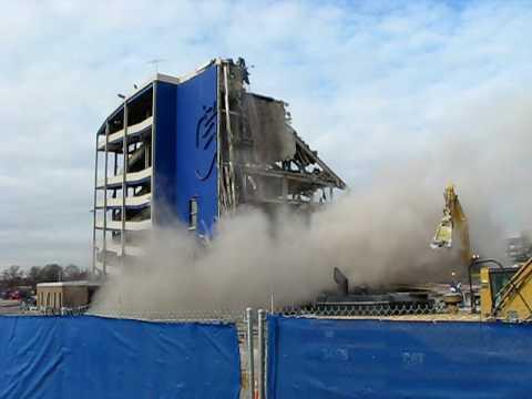 Shea Stadium Demolition 2/14/09