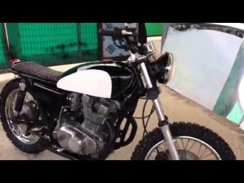 suzuki gs 425 1979 scrambler   youtube