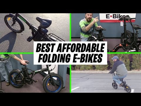 4 Great Affordable Folding Ebikes! | Best Portable E-Bike | GreenMotion E-Bikes