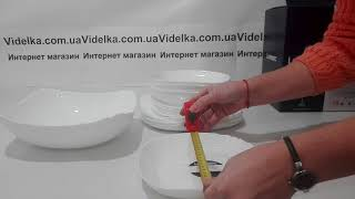 Сервиз столовый 19пр Luminarc Lotusia - обзор