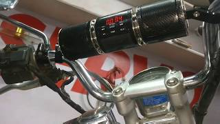 Bluetooth Music System in Motorcycles