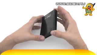 Sidex.ru: Видеообзор внешнего HDD HP SimpleSave 1 Tb USB 3.0 (rus)