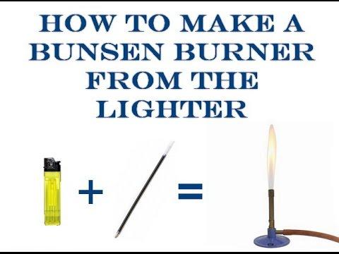 how to work a bunsen burner