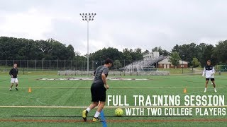 Off The Ball Movement and Shooting Drills | Preseason Prep Training With Two College Players