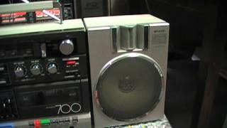 SHARP 700 Ремонт и профилактика магнитофонам SHARP