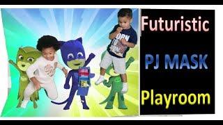 PJ Masks Futuristic Amazing Playroom for Kids
