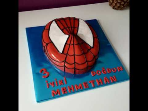 spiderman cake spiderman torte spiderman pasta r mcek adam pasta youtube. Black Bedroom Furniture Sets. Home Design Ideas