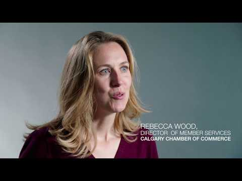 Rebecca Wood, Calgary Chamber of Commerce - Video Testimonial