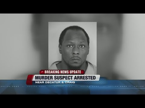 Murder suspect arrested in North Las Vegas