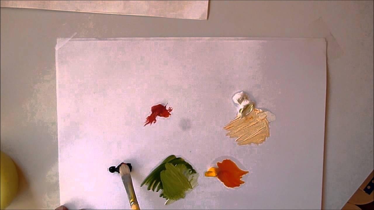 Cours de peinture faire toutes les couleurs avec seulement 3 couleurs youtube for Quelle couleur avec du jaune