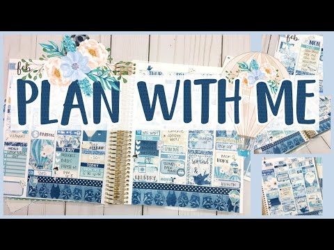 Plan With Me! #39 ❤️ Feb 27-Mar 5th ❤️ January Mystery Kit Ft. Soda Pop Studio