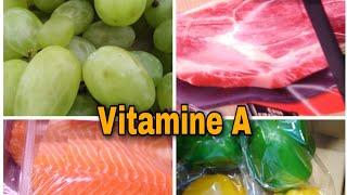 Vitamine A//Aفوائد وأهمية الفيتامين A على الصحة و البشرة