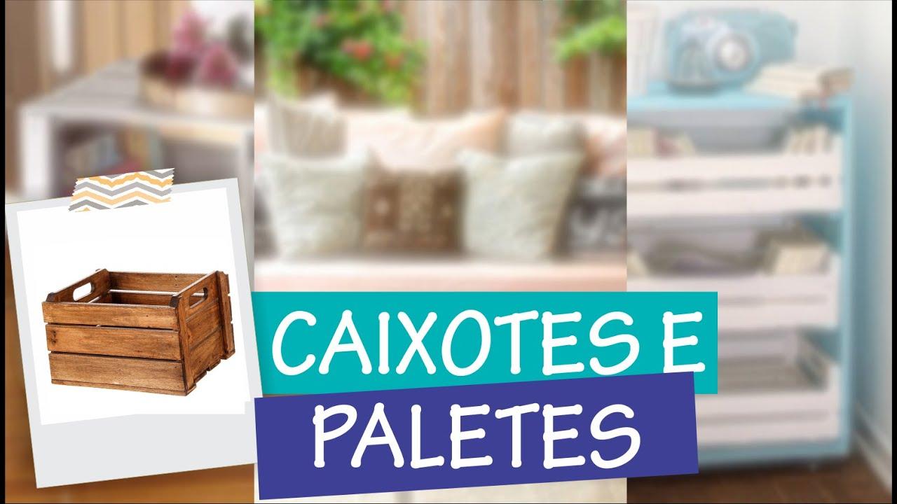 DIY Móveis com caixotes de feira e paletes Interior Design #23  #05B1B6 1556x885